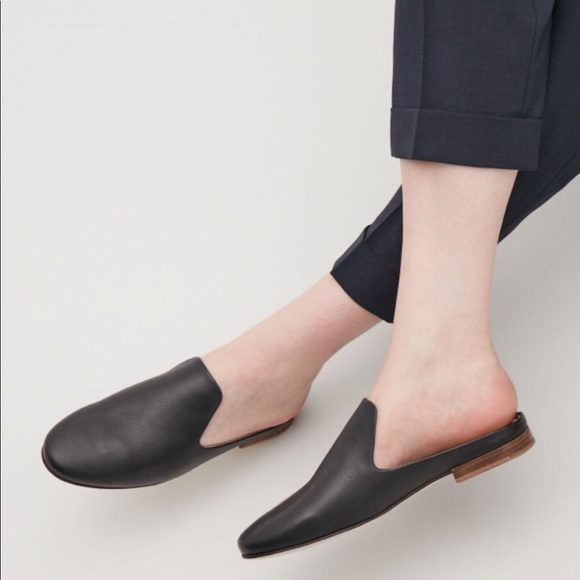 40db672253 COS Shoes - COS Slip-On Leather Loafers